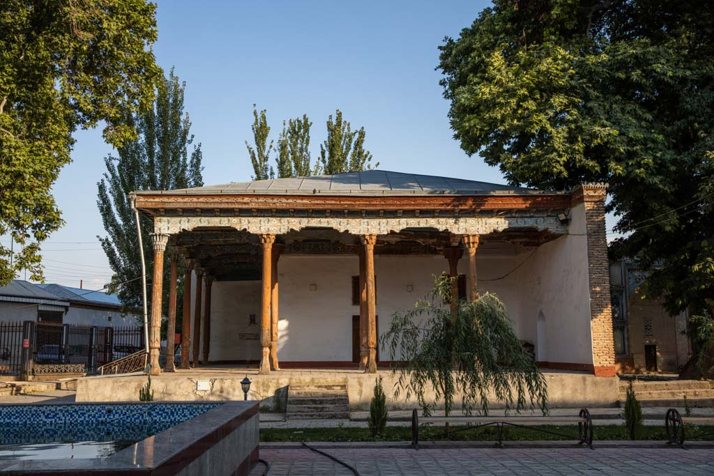 Old Sary Mazor Mosque, Sary Mazor Complex, Istaravshan, Tajikistan