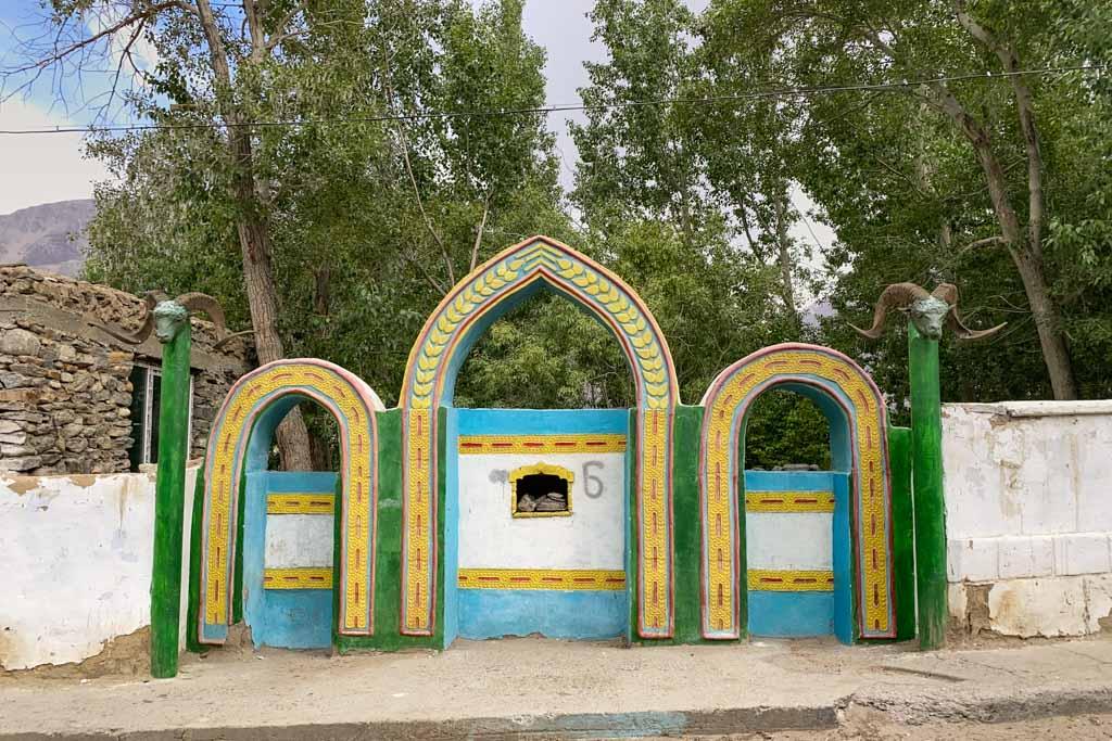 Oston i Bobo Khoki, Shitkharv, Tajik Wakhan, Tajikistan