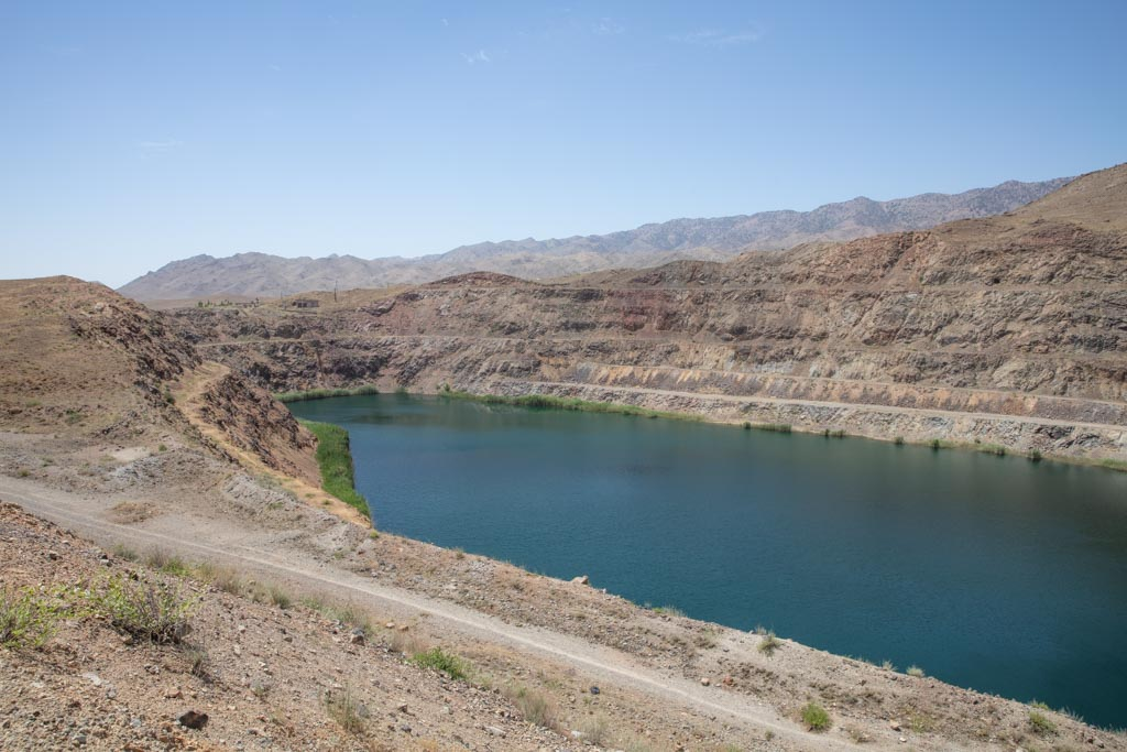 Taboshar Uranium Mine, Istiklol, Tajikistan, Taboshar, Istiklol Uranium Mine, Tajikistan Uranium Mine