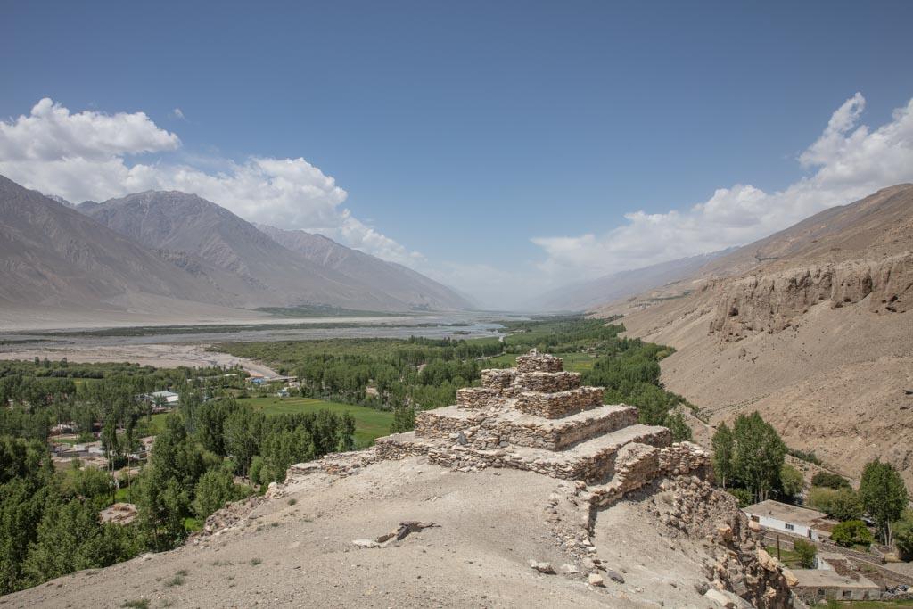 Vrang Stupa, Vrang, Tajik Wakhan, Tajikistan, Buddhism, Buddhism Tajikistan, Buddhist stupa