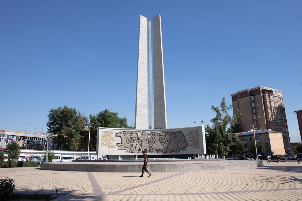 WWII Monument, Khujand, Tajikistan